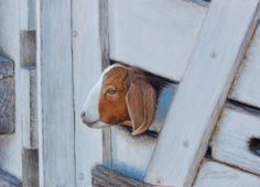 Whats Up? 5x7, painting by artist George Lockwood