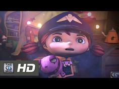 """CGI Animated Short """"Clair de Lune"""" - by Team Clair de Lune Site Film, Cute Girl Names, Theme Halloween, Cgi 3d, Film D'animation, French Films, Teaching French, Science For Kids, Messages"""