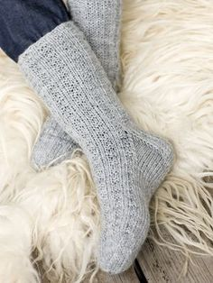 Lovely socks by Novita. Crochet Socks, Knitting Socks, Hand Knitting, Knit Crochet, Knitting Patterns, Crochet Patterns, Knit Socks, Sexy Socks, Knit Wrap