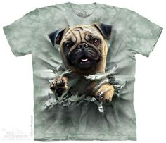 Breakthru Pug t-shirt