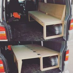 Ford Transit Connect Camper, Camping Essentials, Camping Hacks, Camping Ideas, Camping Supplies, Outdoor Camping, Campervan Bed, Campervan Interior, Camper Beds