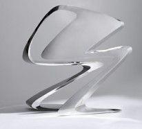 Futuristisches Stuhl Design von Zaha Hadid für Sawaya & Moroni