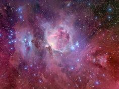 trazos de la nebulosa de orion