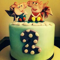 #torta #peppapig #dolcelab #firenze #cakedesign