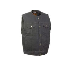 SON OF ANARCHY DENIM, PATCH HOLDER VEST  Without Collar Single Panel Back. This vest is constructed of Denim material, this denim vest has a single panel back for easy addition of patches. There is a gun pocket inside. Sized by loose chest.  GREAT QUALITY AT A VERY REASONABLE PRICE  FEATURES:  Top … Continue reading MEN'S SON OF ANARCHY BLACK DENIM MOTORCYCLE
