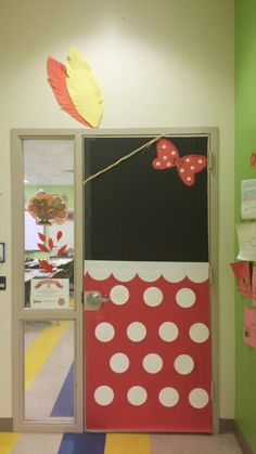 Fall Indian Minnie Mouse door