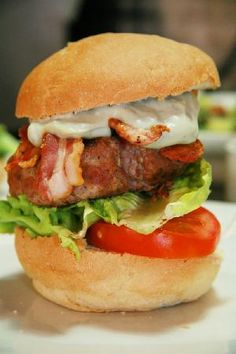 We make the patties of our Beef Burgers ourselves Beef Burgers, Albondigas, Trip Advisor, Restaurant, Chicken, Ethnic Recipes, Food, Plate, Cooking