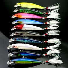 0.93$  Buy now - http://alibc4.shopchina.info/go.php?t=32784187317 - 1PCS Minnow Fishing lures 10 colors fishing wobblers 9cm 8g jig swimbait fishing tackle fishing lure free shipping YE-210  #SHOPPING