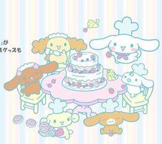 cinnamoroll and friends - Bake a cake!
