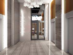 ЖК New York Concept House,  Ліфтовий хол