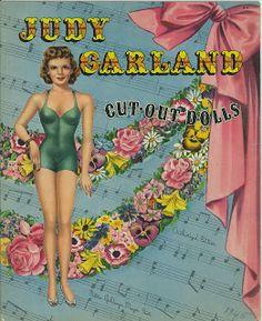 Miss Missy Paper Dolls: Judy Garland Paper Doll