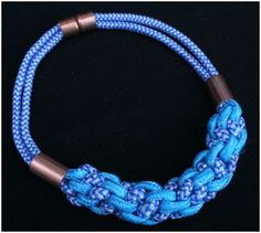 The Beading Gem's Journal: How to Use Rope for Jewelry Tutorials