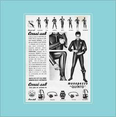 Catalogo Attrezzature subacque Cressi sub del 1963 di