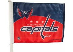 New! Washington Capitals Car Flag #WashingtonCapitals