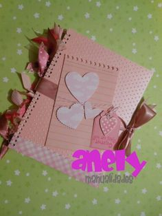 Cuaderno decorado 2 Altered notebook.  Notebook. Cuaderno decorado. Libro alterado. Book.