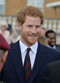 Prince Harry during the Not Forgotten Association Annual Garden Party at Buckingham Palace