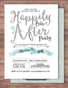 10 best post reception invitations images on pinterest in 2018