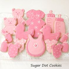 images of baby bottle cookies | Sugar Dot Cookies: New Baby Sugar Cookies With Royal Icing