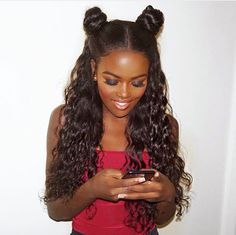 #hairinspiration Lovely hairstyle & Beautiful curly pattern ✨✨✨Yay or Nay? 🙆🙆🙆🙆🙅🙅🙅#repost #hairfashion #hairstyles #hairtrends #bun #humanhair #curlyhair #blackhair #blackgirlsrock #protectivestyles #nicehair #humanhair #beauty #blackgirls #naturallook #dope #gorgeous #instagood