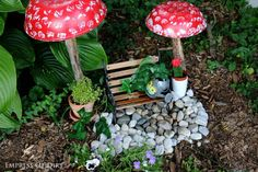 This garden idea is almost TOO cute!