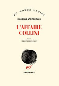 L'affaire Collini - Du monde entier - GALLIMARD - Site Gallimard