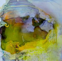 "Saatchi Online Artist: Fintan Whelan; Mixed Media 2012 Painting ""Vita verde - Original SOLD!"""