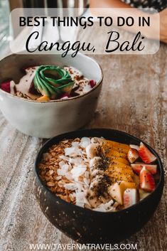 Ultimate guide for the best things to do in Canggu, Bali (Indonesia)! Where to eat, sleep, and explore in one of Bali's must visit towns! Bali Travel Guide, Asia Travel, Travel Tips, Food Travel, Travel Guides, Croatia Travel, Travel Articles, Hawaii Travel, Wanderlust Travel