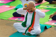 USNEWS: Millions of Indians join Prime Minister Modi in yoga as world marks 1st International Yoga Day. From the new Downdog Diary Yoga Blog found exclusively at DownDog Boutique. DownDog Diary brings together yoga stories from around the web on Yoga Lifestyle... Read more at DownDog Diary