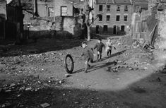Children Playing In An Area Of Bomb-damaged Wasteground In Stepney, In The East End Of London, 9th March 1946