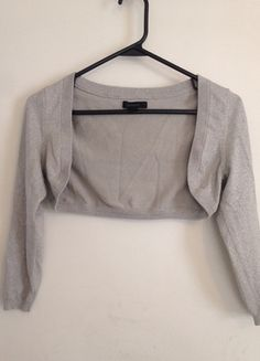 Buy my item on #vinted http://www.vinted.com/womens-clothing/bolero-jackets/5910150-express-silver-metallic-glitter-shrug