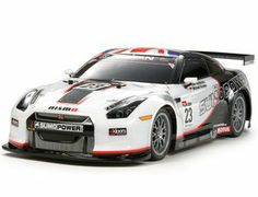 The Tamiya Nissan GT-R, fielded by the UK-based Sumo Power to compete in the 2010 FIA GT1 World Championship, now comes on the fun-to-drive rc radio controlled TT-01 Type-E Chassis.