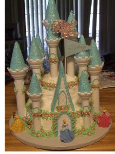 cinderella castle cakes - Google Search