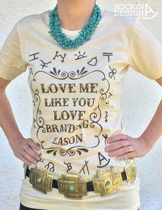 Love Me Like You Love Branding Season / Cattle by RockinAdesign
