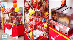 Looking for the newest and best party ideas? Kara's Party Ideas is the place for all things party! Come in and see what is trending in the party world! Circus Carnival Party, Circus Theme Party, Carnival Birthday Parties, Carnival Themes, Circus Birthday, Birthday Party Themes, Carnival Food, Birthday Ideas, Kids Carnival