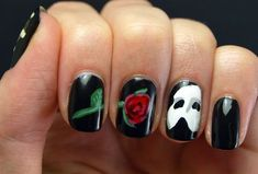 One of my absolute favorite films in nail art form! Love it! #nailart