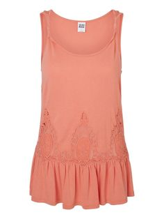 Peplum top from VERO MODA. The perfect top for summer.