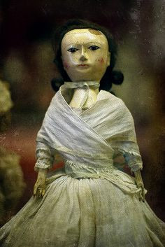Antique Wooden Doll.