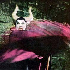 "Eleanor Audley as Maleficent in ""Sleeping Beauty"", 1959."