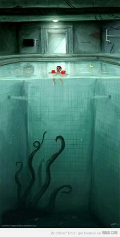 Monster from the depths