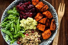 Grab-N-Go Sweet Potato, Cranberry and Quinoa Power Bowl