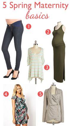spring wardrobe essentials on babylist