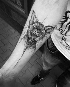 Inez Janiak is a Polish tattoo artist who proves that unfinished art and imperfect lines can actually make a tattoo look pretty epic. Her unique sketch style usually uses animals as her main focus and it certainly pays off, nobody would usually associate a sketch style of art with tatoos, but Inez pulls it off perfectly. Some serious inspiration here.Don't miss out on UltraLinx-related content straight to your emails. Subscribe here. via
