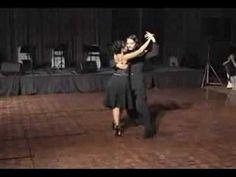TANGO ARGENTINO - Javier y Geraldine bailan poema