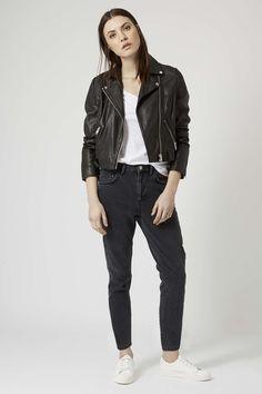 MOTO Milo Rigid Slim Leg Jeans - Topshop