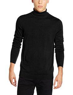 New Look Men's Basic Roll Neck Jumper, Black, Large New Look https://www.amazon.co.uk/dp/B01H7KIFLQ/ref=cm_sw_r_pi_dp_x_5iq1ybRMXJ89S