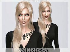 Nerissa at Fashion Royalty Sims via Sims 4 Updates
