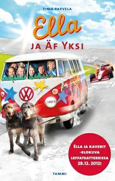Ella ja kaverit -elokuva perustuu kirjaan Ella ja Äf Yksi, joka on julkaistu leffan kunniaksi uudessa asussa. Kirjassa on leffakansi ja 16-sivuinen värivalokuvaliite elokuvan tapahtumista.