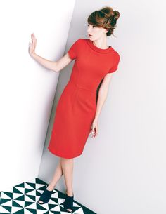 Betty Ottoman Dress WH773 Work at Boden  Love this, so chic and glam