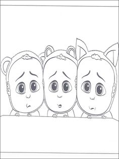The Boss Baby Coloring Pages Painting Learning Coloring