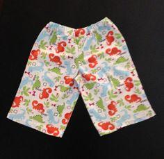2T Dinosaur Short Pants by GreenCraftsbyDiana on Etsy, $7.00